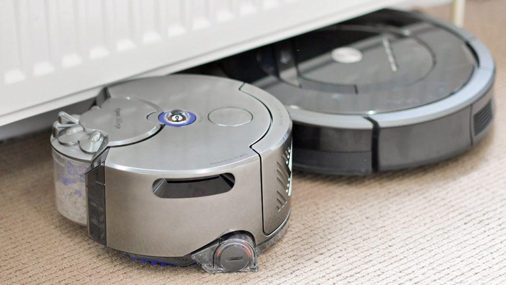 робот пылесос dyson видео